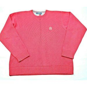Tommy Hilfiger Mens Crew Neck Heavy Knit Sweater